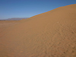 Sand dunes on the edge of the Sahara Desert near Tamegroute in Morocco.