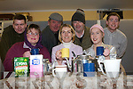 THE WIDOWS PARADISE: Member's of the Ballymacelligott Drama Group rehearsal for their play The Widows Paradise at Cloghers NS on Monday seated l-r: Angela Lenihan, Catherine Leahy and U?na Kerins. Back l-r: Steve Elvins, Seamus Quirke, Mick Bolger and Jamie Cremins..