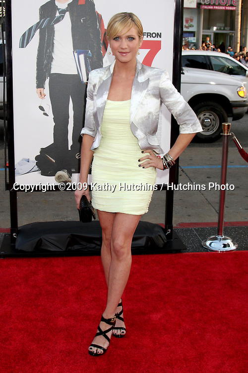Brittany Snow  arriving at the 17 Again Premiere at Grauman's Chinese Theater in Los Angeles, CA on April 14, 2009.©2009 Kathy Hutchins / Hutchins Photo....                .