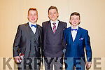 Pupils from St Michaels Secondary School, Listowel enjoying their Debs on Thursday night at The Brandon Hotel. Pictured l-r  Michael Grimes, Niall Collins and Jack Hennessy.