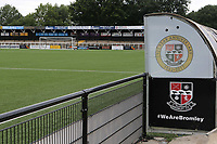 General view at Bromley FC during Bromley vs Fulham, Friendly Match Football at the H2T Group Stadium on 6th July 2019