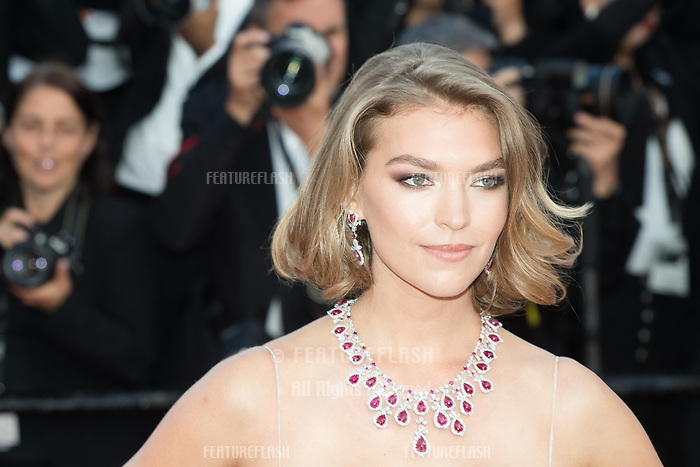 CANNES, FRANCE - MAY 13: Arizona Muse attends the screening of 'Sink Or Swim (Le Grand Bain)' during the 71st annual Cannes Film Festival at Palais des Festivals on May 13, 2018 in Cannes, France.<br /> Picture: Kristina Afanasyeva/Featureflash/SilverHub 0208 004 5359 sales@silverhubmedia.com