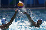 Keigo Okawa (JPN),<br /> AUGUST 6, 2016 - Water Polo : <br /> Men's Preliminary Round <br /> between Japan 7-8 Greece<br /> at Olympic Aquatics Stadium <br /> during the Rio 2016 Olympic Games in Rio de Janeiro, Brazil. <br /> (Photo by Koji Aoki/AFLO SPORT)