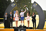 Julian Alaphilippe (FRA) Quick-Step Floors wins the Polka Dot Jersey at the end of Stage 21 of the 2018 Tour de France running 116km from Houilles to Paris Champs-Elysees, France. 29th July 2018. <br /> Picture: ASO/Bruno Bade | Cyclefile<br /> All photos usage must carry mandatory copyright credit (&copy; Cyclefile | ASO/Bruno Bade)