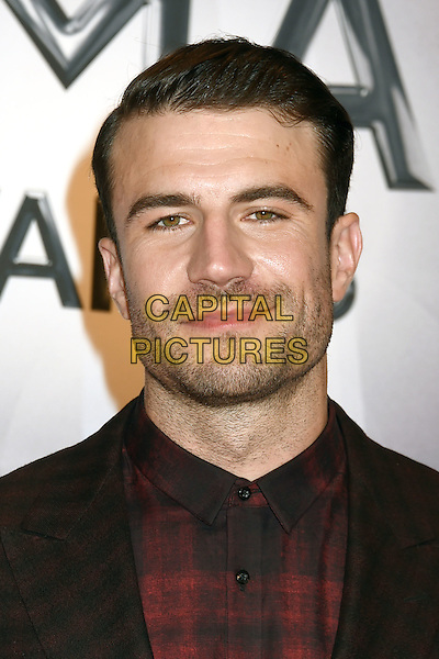 4 November 2015 - Nashville, Tennessee - Sam Hunt. 49th CMA Awards, Country Music's Biggest Night, held at Bridgestone Arena. <br /> CAP/ADM/LF<br /> &copy;LF/ADM/Capital Pictures