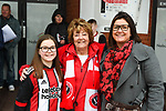 Sheffield United fans for the Fans' Forum ahead of the Championship league match at Bramall Lane Stadium, Sheffield. Picture date 28th April, 2018. Picture credit should read: Harry Marshall/Sportimage