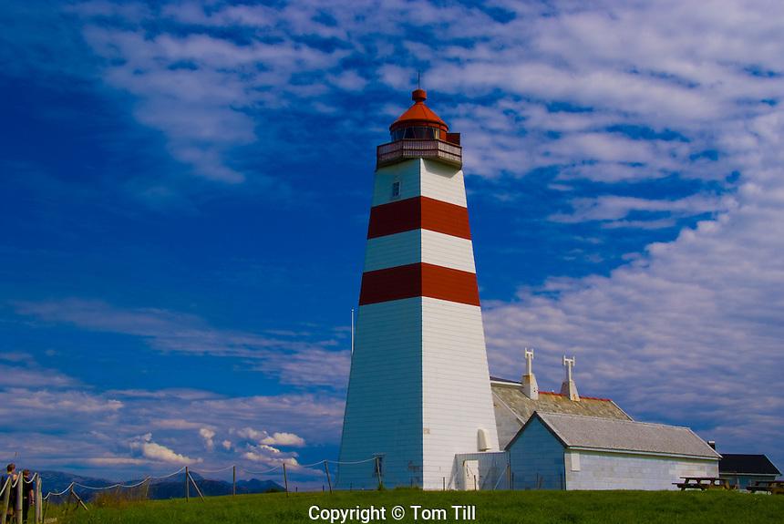 Alnes Lighthouse, Near Alesund, Norway    North Sea Coasr
