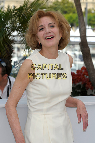 MARISA PAREDES.'The Skin I Live In' photocall (La piel que habito) 64th International Cannes Film Festival, France.19th May 2011.half length white sleeveless dress smiling.CAP/PL.©Phil Loftus/Capital Pictures.