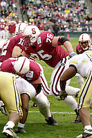 Eric Heitmann during Stanford's loss to Georgia Tech in the Seattle Bowl in Seattle, WA on December 27, 2001.<br />Photo credit mandatory: Gonzalesphoto.com