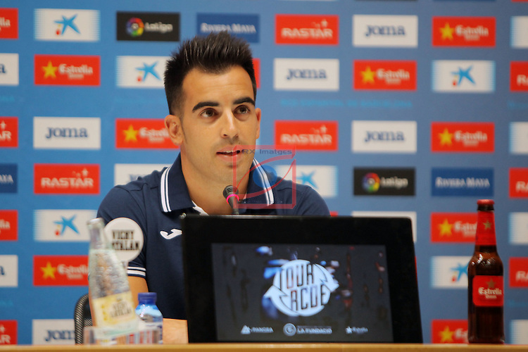 League BBVA 2016/2017.<br /> Jose Manuel Jurado presented as new player of RCD Espanyol.