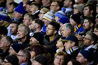 Leeds United fans watch their team in action <br /> <br /> Photographer Chris Vaughan/CameraSport<br /> <br /> The EFL Sky Bet Championship - Leeds United v Sheffield Wednesday - Saturday 11th January 2020 - Elland Road - Leeds<br /> <br /> World Copyright © 2020 CameraSport. All rights reserved. 43 Linden Ave. Countesthorpe. Leicester. England. LE8 5PG - Tel: +44 (0) 116 277 4147 - admin@camerasport.com - www.camerasport.com