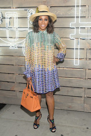 New York, NY- June 17: June Ambrose attends the 2014 Summer Party presented by Coach at friends of the Highline at the  Highline on June 17, 2014 in New York City .Credit: John Palmer/MediaPunch