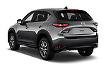 Car pictures of rear three quarter view of 2017 Mazda CX-5 Grand-Touring 5 Door SUV Angular Rear
