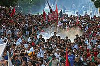 Repressao a manifestaçao contra aumento dos transportes. Movimento Passe Livre, MPL. Sao Paulo. 2015. Foto de Lineu Kohatsu.
