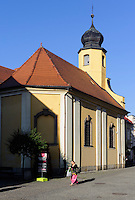 Peter und Paul-Kirche in Jelenia Gora (Hirschberg), Woiwodschaft Niederschlesien (Wojew&oacute;dztwo dolnośląskie), Polen, Europa<br /> Peter and Paul church in Jelenia Gora, Poland, Europe