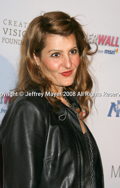 WEST HOLLYWOOD, CA. - February 18: Actress Nia Vardalos arrives at the Children Mending Hearts Gala at the House Of Blues on February 18, 2009 in Los Angeles, California.