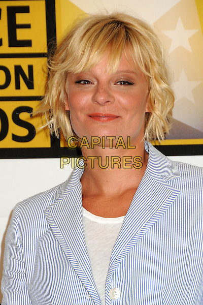 Martha Plimpton.1st Annual Critics' Choice Television Awards held at The Beverly Hills Hotel, Beverly Hills, California, USA, .20th June 2011..portrait headshot blue white striped top jacket .CAP/ADM/BP.©Byron Purvis/AdMedia/Capital Pictures.