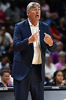 Washington, DC - July 13, 2019: Las Vegas Aces head coach Bill Laimbeer on the sideline during game between the Las Vegas Aces and Washington Mystics at the Entertainment & Sports Arena in Washington, DC. The Aces defeated the Mystics 81-85. (Photo by Phil Peters/Media Images International)