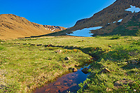 The Tablelands at sunset. Earth's mantle exposed.<br />