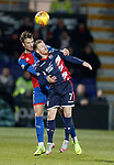 11.02.2019: Ross County v Inverness CT: Michael Gardyne and Brad Mckay