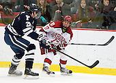 Antoine Laganiere (Yale - 28), Greg Gozzo (Harvard - 17) - The Yale University Bulldogs defeated the Harvard University Crimson 5-1 on Saturday, November 3, 2012, at Bright Hockey Center in Boston, Massachusetts.