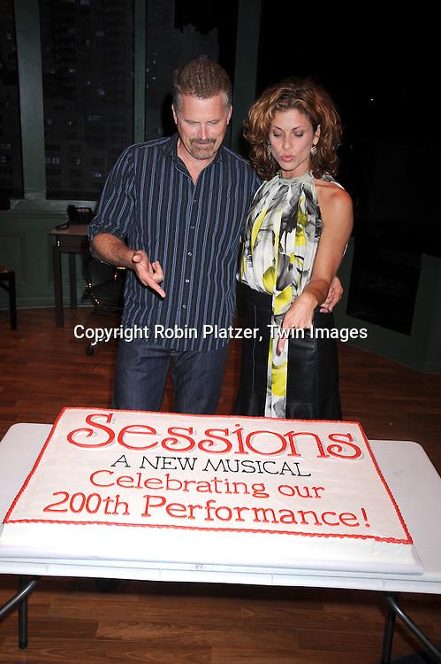 Robert Newman and Rachelle Rak