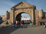 Porte de la marine Harbour gate, Essaouira, Morocco