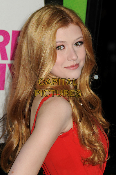 4 February 2014 - Los Angeles, California - Katherine McNamara. &quot;Vampire Academy&quot; Los Angeles Premiere held at Regal Cinemas L.A. Live. <br /> CAP/ADM/BP<br /> &copy;Byron Purvis/AdMedia/Capital Pictures