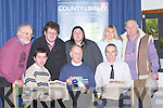 OLD & NEW: On Thursday last Liam Lynch, Knocknagoshel, presented Kerry County Library with old newspapers of the Irish Volunteers and his new book A Stranger to Darkness. Front l-r: Eamon Browne (Library), Liam Lynch (Author) and Tommy O'Connor (County Librarian). Back l-r: Aodan O Conchuir (Ballyferriter), James and Helen Fitzgerald, Liz McHugh (Tralee) and Michael Hussey (Ballyheigue)..