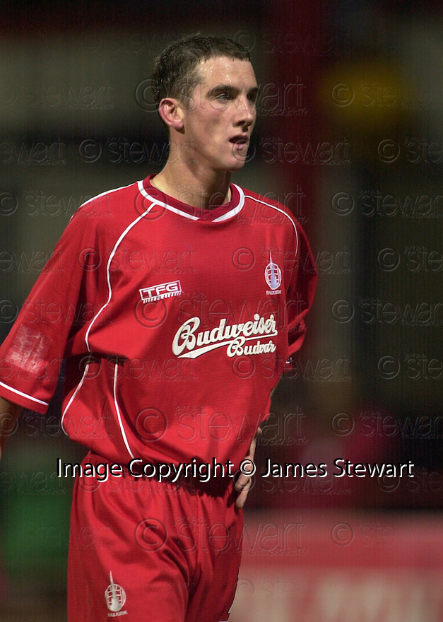 09/04/2003                   Copright Pic : James Stewart.File Name : stewart-dundee v falkirk 17.KERR SENT OFF....James Stewart Photo Agency, 19 Carronlea Drive, Falkirk. FK2 8DN      Vat Reg No. 607 6932 25.Office     : +44 (0)1324 570906     .Mobile  : +44 (0)7721 416997.Fax         :  +44 (0)1324 570906.E-mail  :  jim@jspa.co.uk.If you require further information then contact Jim Stewart on any of the numbers above.........