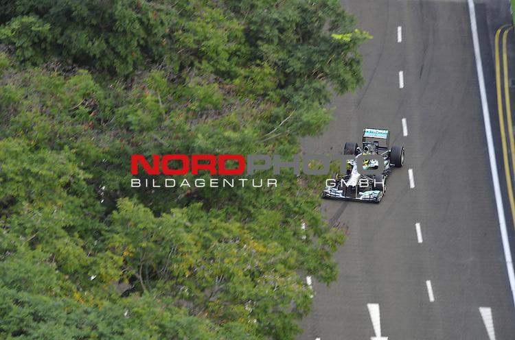 19.-22.09.2013, Marina-Bay-Street-Circuit, Singapur, SIN, F1, Grosser Preis von Singapur, Singapur, Nico Rosberg (GER), Mercedes GP <br />  Foto &copy; nph / Mathis