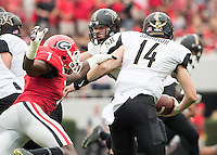 Athens, GA - October 15, 2016: The University of Georgia Bulldogs play the Vanderbilt University Commodores at Sanford Stadium.