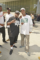 LOS ANGELES, CA - JULY 08: Rappers Daz Dillinger and General Jeff attend the UNITY Protest Mach at the Los Angeles Police Department in Downtown Los Angeles on July 8, 2016 in Los Angeles, California. Credits: Koi Sojer/Snap'N U Photos/MediaPunch