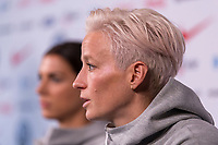 New York, NY - May 24, 2019:  Members of the USWNT participate in a media day at Twitter headquarters.