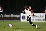 20 March 2004: Freddy Adu races up the field with the ball during the second half. DC United of Major League Soccer defeated the Charleston Battery of the A-League 2-1 at Blackbaud Stadium in Charleston, SC in a Carolina Challenge Cup match..