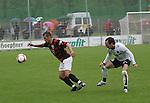 Sandhausen 19.04.2008, Ersin Demir (Ingolstadt) und R.Pinto (SV Sandhausen) in der Regionalliga S&uuml;d 2007/08 SV Sandhausen 1916 - FC Ingolstadt 04<br /> <br /> Foto &copy; Rhein-Neckar-Picture *** Foto ist honorarpflichtig! *** Auf Anfrage in h&ouml;herer Qualit&auml;t/Aufl&ouml;sung. Belegexemplar erbeten.