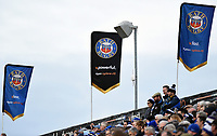 Bath Rugby supporters in the crowd watch the match. Heineken Champions Cup match, between Bath Rugby and Wasps on January 12, 2019 at the Recreation Ground in Bath, England. Photo by: Patrick Khachfe / Onside Images