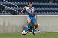 Bridgeview, IL - Sunday June 04, 2017: Taylor Comeau during a regular season National Women's Soccer League (NWSL) match between the Chicago Red Stars and the Seattle Reign FC at Toyota Park. The Red Stars won 1-0.