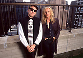 1989: CHEAP TRICK - Photosession in New York USA