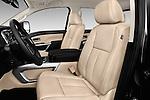 Front seat view of 2016 Nissan Titan SL 4 Door Pickup Front Seat  car photos