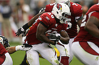 10/23/11 Glendale, AZ: Arizona Cardinals running back Alfonso Smith #46 during an NFL game played at University of Phoenix Stadium between the Arizona Cardinals and the Pittsburgh Steelers. The Steelers defeated the Cardinals 32-20.