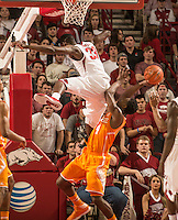NWA Democrat-Gazette/ANTHONY REYES &bull; @NWATONYR<br /> Arkansas against Tennessee Tuesday, Jan. 27, 2015 in Bud Walton Arena in Fayetteville. The Razorbacks won 69-64.
