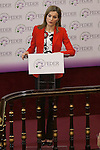 Queen Letizia of Spain during the Rare Diseases World Day Event organized by FEDER in Madrid, Spain. March 05, 2015. (ALTERPHOTOS/Victor Blanco)