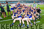 All Ireland Junior Football Final 6/8/2016<br /> Kerry players celebrate <br /> Pic : Lorraine O'Sullivan