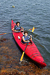 Bianca & Carly Kayaking