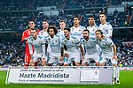 Real Madrid squad poses for photos during the La Liga 2017-18 match between Real Madrid and Real Betis at Estadio Santiago Bernabeu on 20 September 2017 in Madrid, Spain. Photo by Diego Gonzalez / Power Sport Images