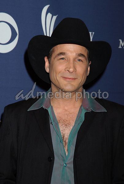 May 26, 2004; Las Vegas, NV, USA; Musician CLINT BLACK during the 39th Annual Academy of Country Music Awards held at Mandalay Bay Resort and Casino. Mandatory Credit: Photo by Laura Farr/AdMedia. (©) Copyright 2004 by Laura Farr