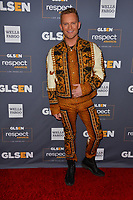 LOS ANGELES, USA. October 26, 2019: August Getty at the GLSEN Awards 2019 at the Beverly Wilshire Hotel.<br /> Picture: Paul Smith/Featureflash