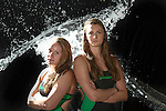 Tulane Swim and Dive, Fall 2016, Water Photoshoot.