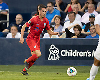 KANSAS CITY, KS - JUNE 26: Daniel Lovitz #16 during a game between United States and Panama at Children's Mercy Park on June 26, 2019 in Kansas City, Kansas.